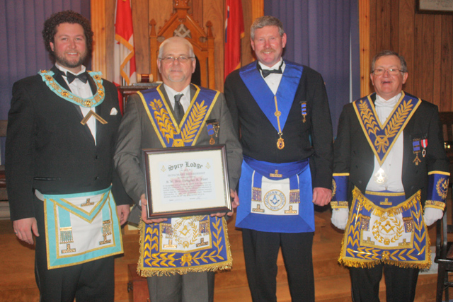 R.W. Bro. Fleet - Honorary Spry Member